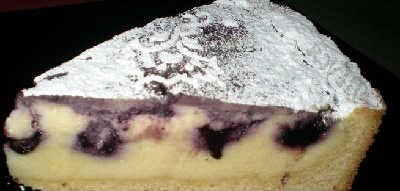 Выпечка с черникой рецепты с фото_пирог с черникой и творогом