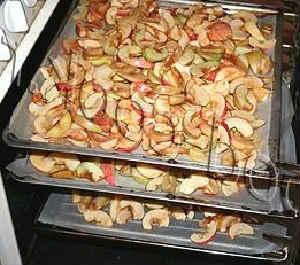 Как сушить яблоки в домашних условиях_в духовке электрической