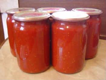Приготовление кетчупа в домашних условиях на зиму_с яблоками и луком