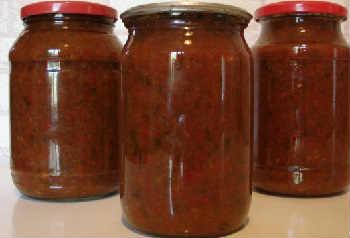 Приготовление кетчупа в домашних условиях на зиму_с алычей