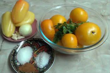 Приготовление кетчупа в домашних условиях на зиму_рецепт с желтыми помидорами