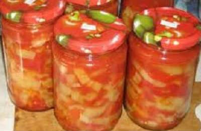 Приготовление лечо в домашних условиях на зиму_из помидоров и перца с чесноком
