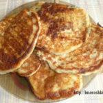 Ленивые хачапури с сыром на сковороде_готовое блюдо