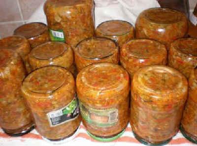 Консервирование перца сладкого на зиму_охотничий салат с капустой
