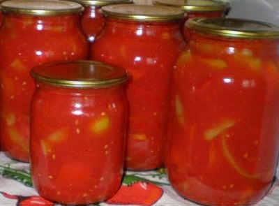 Консервирование перца сладкого на зиму_в томатном соке