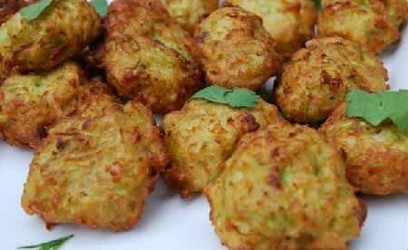 Закуска из кабачков на праздничный стол_рецепт шариков с сыром