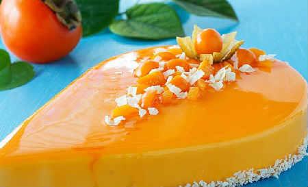 Что можно приготовить из хурмы_творожный десерт