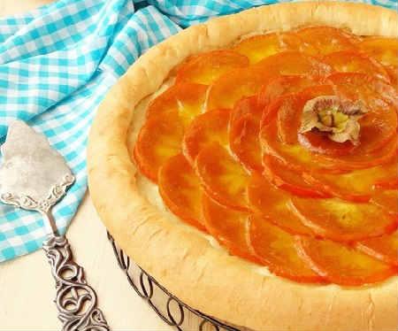 Что можно приготовить из хурмы_пирог