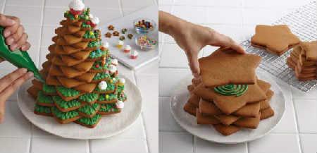 Рецепт имбирного печенья в домашних условиях_украшение елочки
