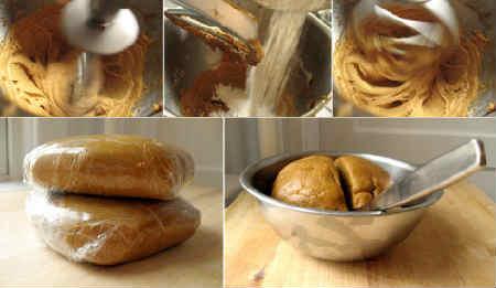 Рецепт имбирного печенья в домашних условиях_тесто