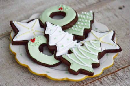 Рецепт имбирного печенья в домашних условиях_глазурь