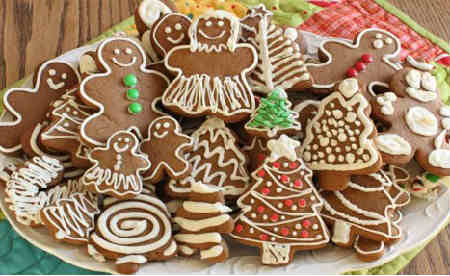 Рецепт имбирного печенья в домашних условиях_с глазурью