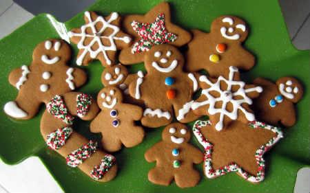 Рецепт имбирного печенья в домашних условиях_ фигурки