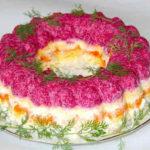 Селедка под шубой по-новому_рецепт с желатином