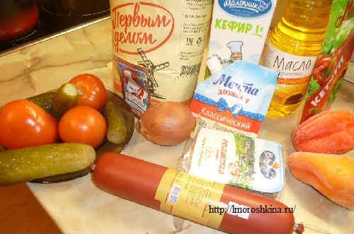 Пицца домашняя рецепт приготовления с фото_продукты