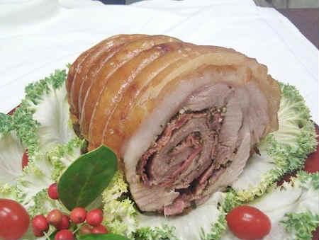 Как приготовить свиную рульку в домашних условиях_рулет в мультиварке