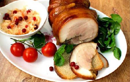 как вкусно приготовить свиную рульку в духовке рецепт