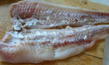 Котлеты из минтая рецепт  очень вкусно_подготовка рыбы