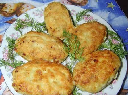 Котлеты с минтая в духовке рецепты