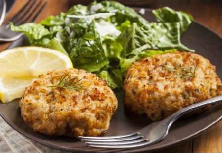 как приготовить рыбные котлеты с салом и геркулесом рецепт