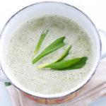 _суп с черемшой рецепт вегетарианский