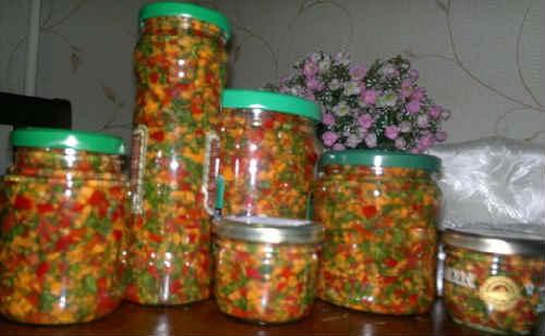 Zagotovka zeleni na zimu neobychnye recepty3