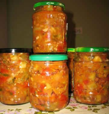 Zagotovki na zimu salaty iz ovoshhej