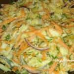 Салат коул слоу рецепт