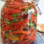 Перец острый маринованный на зиму простой рецепт