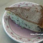Наливной пирог с капустой на кефире