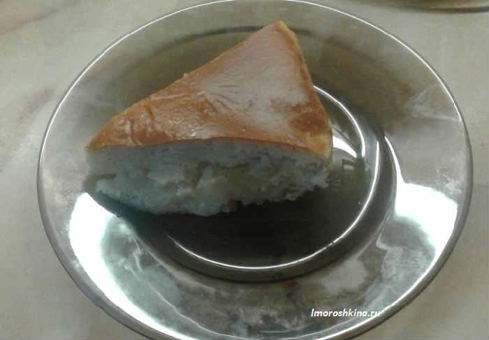 Пирог с картошкой в духовке простой рецепт