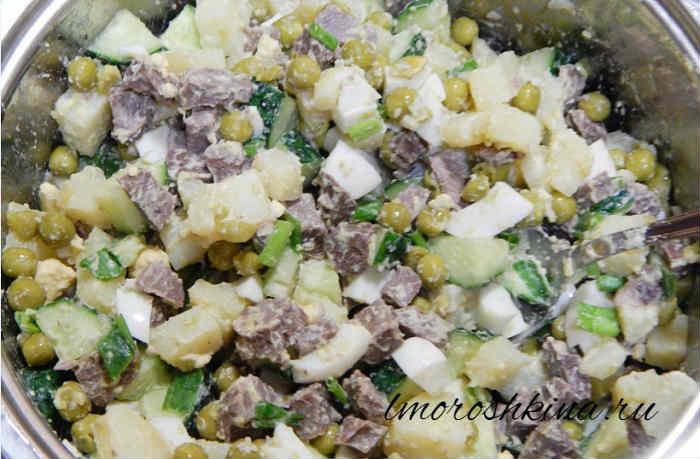 Salat oliv'e recept s foto ochen' vkusnyj6