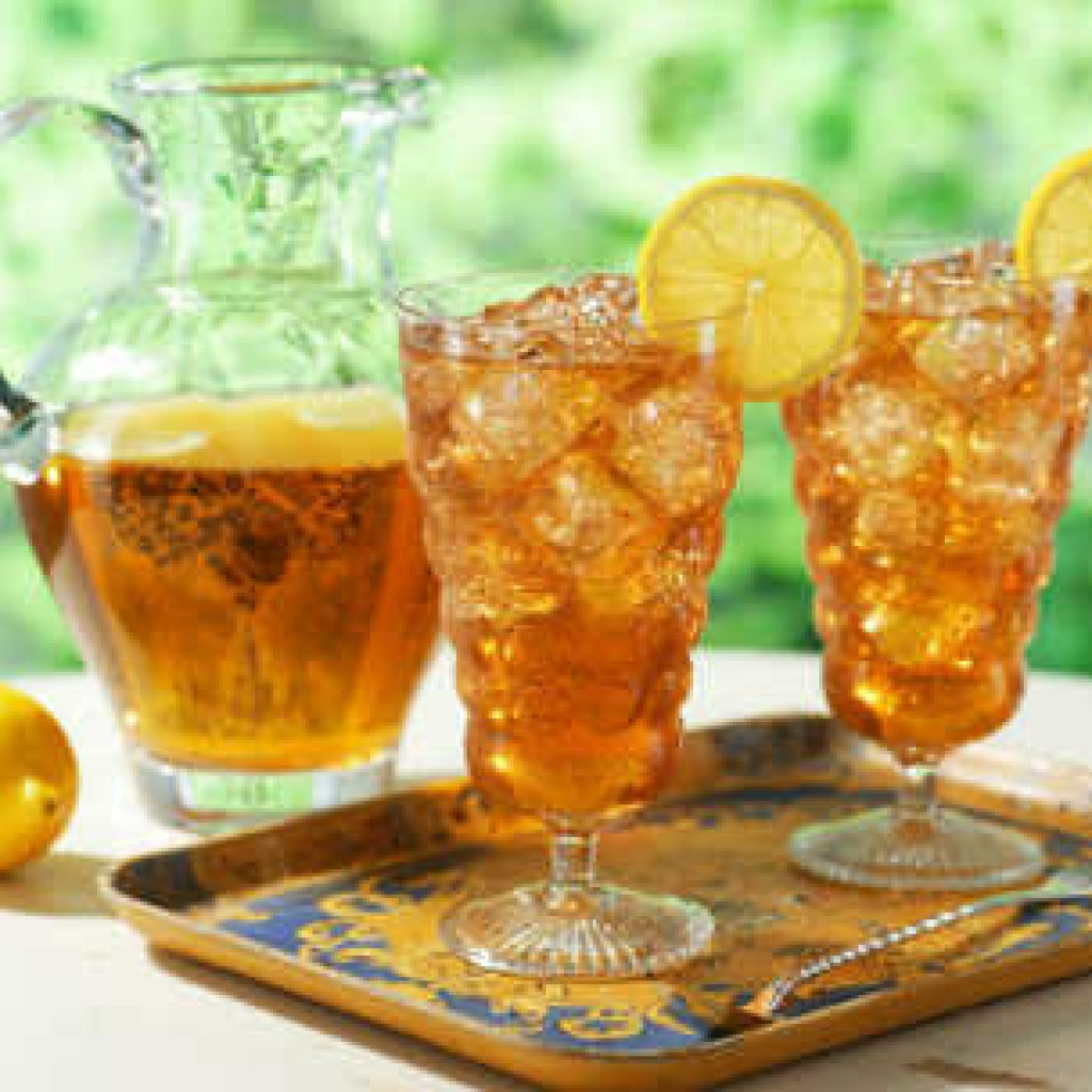 как сделать домашний холодный чай