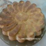 Рецепт манника на кефире классический_готовая выпечка