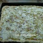 Луковый пирог рецепт с фото_как приготовить