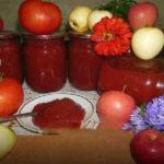 Приготовление кетчупа в домашних условиях на зиму_ с яблоками и помидорами
