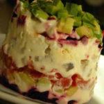 Селедка под шубой: классический рецепт слои, последовательность_вегетарианская