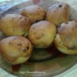 Рецепт кексиков с изюмом в формочках