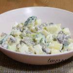 Салат оливье рецепт с фото очень вкусный