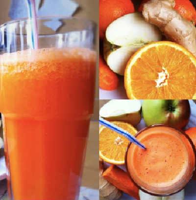 Смузи с апельсином