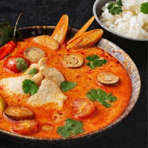 Суп Том Ям с курицей: классический азиатский суп