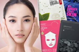 Польза корейских тканевых масок для лица