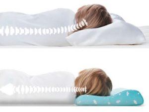 Выбор ортопедической подушки для сна